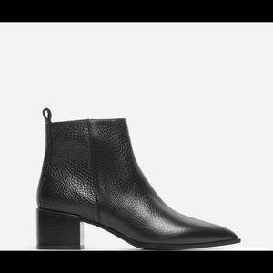 EverLane Boss Boot Pebbled Black
